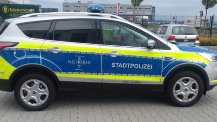 Kuga Stadtpolizei Wiesbaden